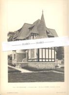 """VILLERS - SUR - MER = Photo Et Plan De La Villa """" Les Géraniums """"  G. Duprez Architecte - Architecture, Maison (b233) - Architecture"""