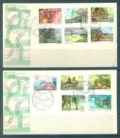 PAPUA NEW GUINEA -  FDC  - 13.6.1973 - Yv 242-252 -  Lot 17712 - Papua-Neuguinea
