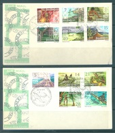 PAPUA NEW GUINEA -  FDC  - 13.6.1973 - Yv 242-252 -  Lot 17712 - Papouasie-Nouvelle-Guinée