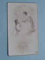 1 Communion Myriam DUWELZ Saint-Henri àWoluwe-St.Lambert Le 11 Mai 1947 ( Zie Foto's ) ! - Communion