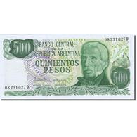 Billet, Argentine, 500 Pesos, 1976-1983, Undated (1977-1982), KM:303c, SPL - Argentine