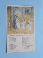 Communion De Marie-Jeanne DUWELZ Au Institut Notre-Dame De ROULE à SCHAERBEEK Le 30 Juin 1935 ( Zie Foto's ) ! - Communion