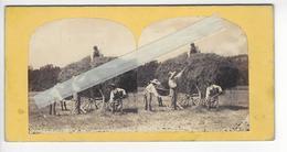 LES FOINS Circa 1855 PHOTO STEREO /FREE SHIPPING REGISTERED - Photos Stéréoscopiques