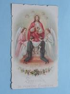 1 Communion De GEORGES VERTONGEN Au Institut St. Josse à St. JOSSE-ten-NOODE Le 17 Juin 1897 ( Zie Foto's ) ! - Communion