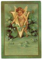 CPM   ALPHABET DES ANGELOTS -  CUPID'S ALPHABET -     LETTRE V - Angels