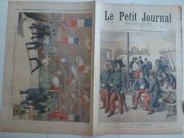 Le Petit Journal 17 Mars 1895 226 Manoeuvres Sur La Neige Caserne Militaire Mort De Harry Alis Ile De La Grande Jatte - 1850 - 1899