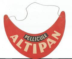 Ancienne VISIERE CASQUETTE Publicitaire Pellicule ALTIPAN - Caps