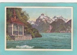 Old Postcard Of Tellskapelle,Lake Lucerne,Uri, Switzerland.J53. - UR Uri