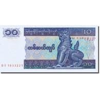 Billet, Myanmar, 10 Kyats, 1991-1998, 1996, KM:71a, NEUF - Myanmar