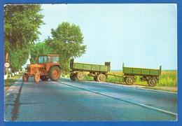 Auto; Traktor; Rumänien; Infoblatt - Ansichtskarten