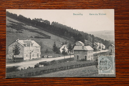 Tenneville, Baconfoy, Gare Station Du Tram Vicinal Marche En Famenne Bastogne - Tenneville