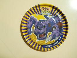Yu-Gi-Oh! Mega Metal Tazo * Dragon Zombie Nº141 - Figurines