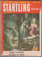 C1   STARTLING STORIES 08 1953 SF Pulp Walter POPP Theodore STURGEON George SMITH - Science Fiction