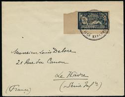 Lettre 5f Merson Sur L., Oblitération Résidence De France Iles Kerguelen Superbe Et Rare. - Timbres