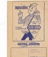 Protège-cahier  - B3360 - Chemises DESTRE CHERPIN- 4 Scans ( Non Utilisé) - Buvards, Protège-cahiers Illustrés