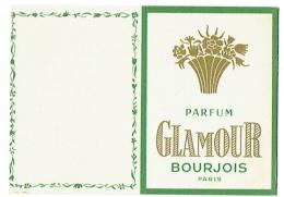 Petit Calendrier. Parfum Glamour Bourjois Paris 1959. - Calendriers