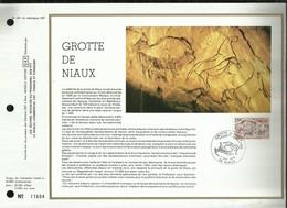 CEF N° 491 . GROTTE DE NIAUX . 07 JUILLET  1979 . NIAUX . - FDC