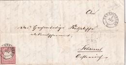 ALLEMAGNE 1872 LETTRE DE UEBERLINGEN - Brieven En Documenten