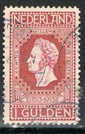 Niederlande 89 B Gestempelt - 1 Gulden Unabhängigkeit 1913 - 1891-1948 (Wilhelmine)