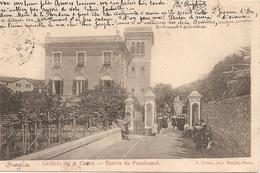 CPA  Italie : ONEGLIA  Istituto Del S.Cuore - Entrée Du Pensionnat  Rare  Réf 4590 - Imperia
