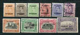 Belgische Besetzung Im Rheinland Ex. Nr.1/11        *  Unused + O  Used        (892) - Guerre 14-18
