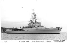 """¤¤   -   Carte-Photo Du Porte-Hélicoptères """" JEANNE-D'ARC """"   -  ¤¤ - Warships"""