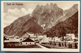 RAIBL MIT FUNFSPITZ  Tarvisio  / Cave Del Predil /  ALPI GIULIE - Italy