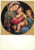 D1362 Raffael Madonna Della Sedia - Paintings