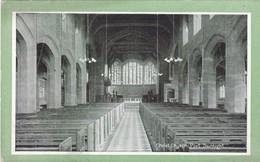 Postcard Christ Church Port Sunlight Wirral Cheshire My Ref  B12333 - England