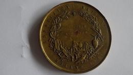 Médaille MILANO ESPOSIZIONE 1881 MEDAGLIA UNIFACE Exposition - Altri