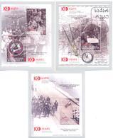 2018. Georgia, Centenary Of Georgian Democratic Republic, 3 S/s, Mint/** - Georgia