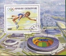 Repubblica Centro Africana:1987 Airmail - Olympic Games - Seoul, South Korea'88. - Repubblica Centroafricana