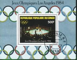 Repubblica Del Congo:1984 Airmail - Olympic Games - Los Angeles, USA. - Congo - Brazzaville