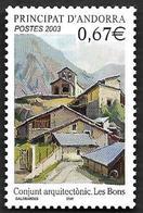 ANDORRE  2003 -  YT 578 -  Les Bons - NEUF**  - Cote  2.70e - Andorre Français
