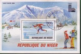 Niger 1979 Winter Olympic Games - Lake Placid, USA 1980. - Niger (1960-...)