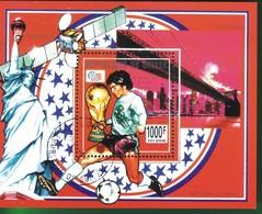 Guinea 1993 Airmail - Football World Cup - U.S.A. (1994). - Guinea-Bissau