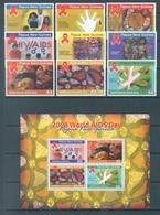 PAPUA NEW GUINEA -  MNH/** - 2008 - AIDS DAY - Yv 1255-1263 BLC 56 -  Lot 17718 - Papouasie-Nouvelle-Guinée