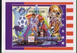 Guinea 1992 Airmail - Football World Cup - U.S.A. (1994). - Guinea-Bissau