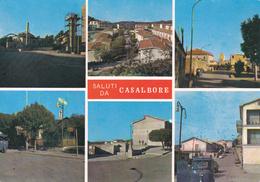 AVELLINO - Saluti Da Casalbore - 6 Vedute - Piaggio Ape - Bar Dei Fiori - Tabaccheria / Tabacchino / Tabacchi - Avellino