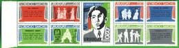 URUGUAY 1975-Centenario Della Nascita Di FLORENCIO SANCHEZ. - Uruguay