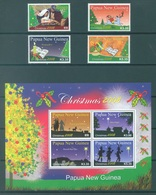 PAPUA NEW GUINEA -  MNH/** - 2008 - CHRISTMAS - Yv 1251-1254 BLOC 54 -  Lot 17719 - Papouasie-Nouvelle-Guinée