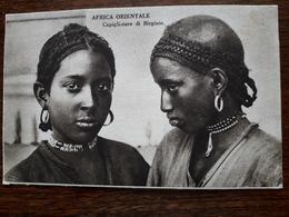 Afrique Orientale. Capigliature Di Birginie - Eritrea