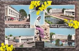 MAROC---souvenir De PORT-LYAUTEY---multivues--voir  2 Scans - Maroc