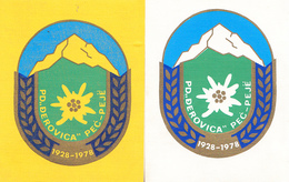 ALPINISM PATCH - KOSOVO PEC PEJE - Sports