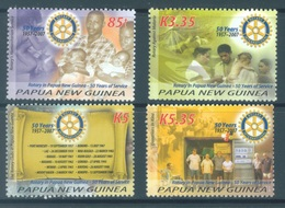 PAPUA NEW GUINEA -  MNH/** - 2007 -ROTARY - Yv 1169-1172 -  Lot 17720 - Papouasie-Nouvelle-Guinée