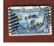 CANADA - SG 371 - 1938 STEAMER &  MONOPLANE   -  USED - Gebraucht