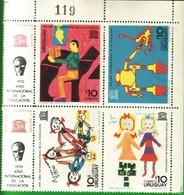 URUGUAY 1970 - ANNO INTERNAZIONALE DELL'EDUCAZIONE. - Uruguay