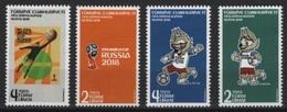 Turkey - Turquie (2018) - Set -  /  World Cup Russia - Soccer - Football - Calcio - Fussball - 2018 – Russia