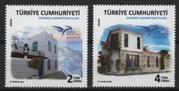 Turquie - Turkey (2018)  - Set -   /  Joint Issue - Euromed - Houses - Casas - Maisons - Architecture - Gezamelijke Uitgaven