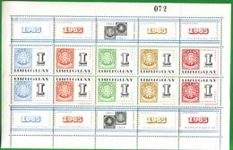 URUGUAY 1965-1 ° Anniversario Della Mostra Filatelica River Plate, Montevideo. - Uruguay